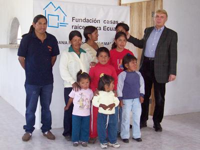 Haus & Grund Ecuador Vorsitzender Herr Manfred Leyendecker